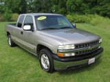 2002 Light Pewter Metallic Chevrolet Silverado 1500 LS Extended Cab #83206537