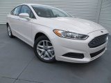 2013 White Platinum Metallic Tri-coat Ford Fusion SE 1.6 EcoBoost #83206106