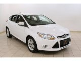 2012 Oxford White Ford Focus SEL 5-Door #83206414
