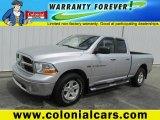 2011 Bright Silver Metallic Dodge Ram 1500 SLT Quad Cab 4x4 #83206522