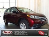 2013 Basque Red Pearl II Honda CR-V LX #83205757