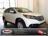 2013 White Diamond Pearl Honda CR-V EX #83205753