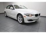 2013 Mineral White Metallic BMW 3 Series 320i Sedan #83206312