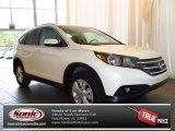 2013 White Diamond Pearl Honda CR-V EX-L #83205752