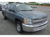 2013 Blue Granite Metallic Chevrolet Silverado 1500 LT Crew Cab #83206399