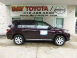 2013 Sizzling Crimson Mica Toyota Highlander SE 4WD #83205851