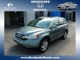 2011 Opal Sage Metallic Honda CR-V EX-L 4WD #83205935