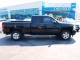 2008 Black Chevrolet Silverado 1500 Work Truck Extended Cab #83205840