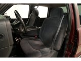 2002 Chevrolet Silverado 1500 LS Crew Cab Graphite Gray Interior