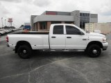 2008 Bright White Dodge Ram 3500 SLT Quad Cab 4x4 Dually #83206477