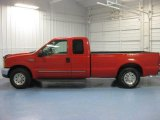 2000 Red Ford F250 Super Duty XLT Extended Cab #83205915