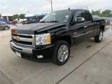 2011 Black Chevrolet Silverado 1500 LT Extended Cab #83205914
