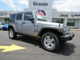 2013 Billet Silver Metallic Jeep Wrangler Unlimited Sport 4x4 #83206069