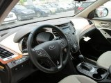 2013 Hyundai Santa Fe GLS AWD Beige Interior
