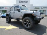 2013 Billet Silver Metallic Jeep Wrangler Unlimited Sport 4x4 #83206067