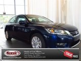 2013 Obsidian Blue Pearl Honda Accord EX Sedan #83263143