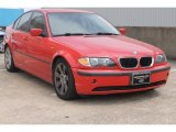 2003 Electric Red BMW 3 Series 325i Sedan #83263742