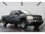 2011 Taupe Gray Metallic Chevrolet Silverado 1500 LS Extended Cab #83263439
