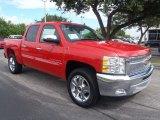 2013 Victory Red Chevrolet Silverado 1500 LT Crew Cab #83263836