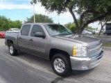 2013 Graystone Metallic Chevrolet Silverado 1500 LT Crew Cab #83263835