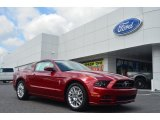 2014 Ruby Red Ford Mustang V6 Premium Coupe #83263334