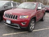 2014 Deep Cherry Red Crystal Pearl Jeep Grand Cherokee Limited 4x4 #83263136