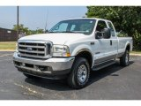 2002 Oxford White Ford F250 Super Duty XL SuperCab 4x4 #83263533