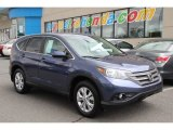 2012 Twilight Blue Metallic Honda CR-V EX 4WD #83263826