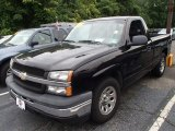 2005 Black Chevrolet Silverado 1500 Regular Cab #83263117