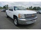 2013 Summit White Chevrolet Silverado 1500 LT Crew Cab #83263615