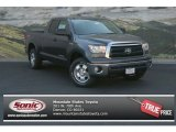 2013 Magnetic Gray Metallic Toyota Tundra Double Cab 4x4 #83263095