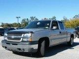2005 Silver Birch Metallic Chevrolet Silverado 1500 LS Extended Cab #829863