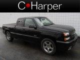 2003 Black Chevrolet Silverado 1500 SS Extended Cab AWD #83263700