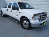 2005 Oxford White Ford F350 Super Duty Lariat Crew Cab Dually #83263371