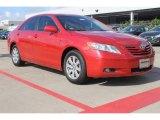 2008 Barcelona Red Metallic Toyota Camry SE V6 #83263778