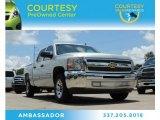2013 Silver Ice Metallic Chevrolet Silverado 1500 LT Crew Cab #83263569