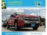 2010 Victory Red Chevrolet Silverado 1500 LS Crew Cab #83263556