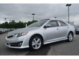 2013 Classic Silver Metallic Toyota Camry SE #83316546