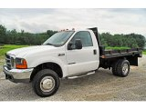 1999 Ford F350 Super Duty XL Regular Cab 4x4 Chassis Data, Info and Specs