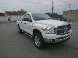 2007 Bright White Dodge Ram 1500 SLT Quad Cab 4x4 #83316979
