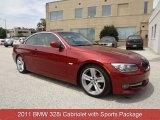 2011 Vermillion Red Metallic BMW 3 Series 328i Convertible #83316604