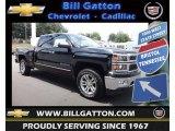 2014 Black Chevrolet Silverado 1500 LTZ Crew Cab 4x4 #83316886