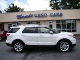 2011 White Platinum Tri-Coat Ford Explorer Limited #83316682