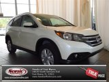 2013 White Diamond Pearl Honda CR-V EX-L #83316316