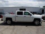 2014 Summit White Chevrolet Silverado 1500 LT Crew Cab 4x4 #83316473
