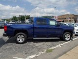 2014 Blue Topaz Metallic Chevrolet Silverado 1500 LT Z71 Crew Cab 4x4 #83316472