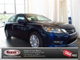 2013 Obsidian Blue Pearl Honda Accord EX Sedan #83316301