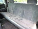 2000 Chevrolet Silverado 1500 LS Extended Cab 4x4 Rear Seat