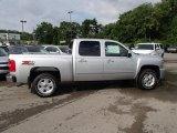 2013 Silver Ice Metallic Chevrolet Silverado 1500 LT Crew Cab 4x4 #83316558