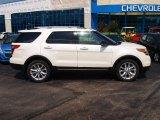 2013 Oxford White Ford Explorer XLT 4WD #83316384